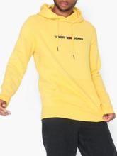 Tommy Jeans Tjm Straight Logo Hoodie Puserot Kulta