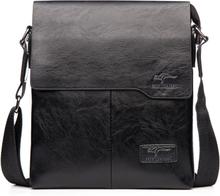 Promotion Famous Brand Vintage Fashion Man Leather Messenger Bag Male CrossBody Shoulder Business Bags For Men
