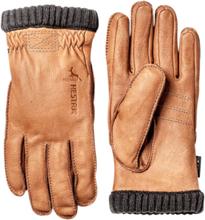 Hestra Deerskin Glove Lasketteluvaatteet BROWN
