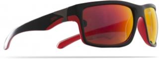 Trespass Drop - Solbrille - Sort/rød