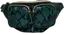 ONLY Kunstledergürtel Tasche Damen Grün