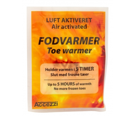 Accezzi fodvarmere - Engangs - Placeres i fodtøj