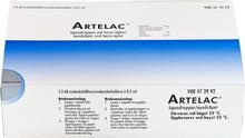 Artelac ögondroppar, lösning i endosbehållare, 0,5 ml 180 st