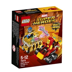 LEGO Super Heroes Mighty Micros: Iron Man mod Thanos 76072 - wupti.com