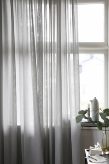 Mimou - Lyx Hotellvoile Gardin, 290x250 cm, Grå