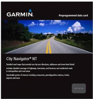 Australien och Nya Zeeland Garmin microSD™/SD™: City Navigator Australia & New Zealand