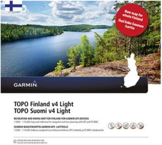 Garmin TOPO Finland v4 Light Garmin microSD™-/SD™-kort