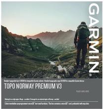 TOPO Norge Premium v3, Region 5 – Nordvest Garmin microSD™/SD™ card