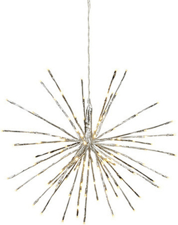 Juldekoration Firework Silver 60cm