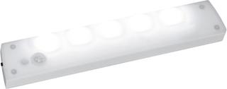 Batteridriven lampa LED med ljus- och rörelsesensor
