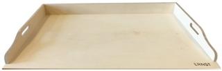 Ernst Kirchsteiger Bakbord i trä 80x60x7,5