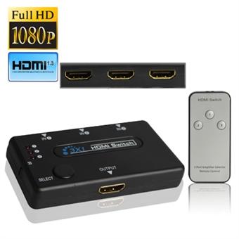 HDMI Switch Full 1080P HD signaali
