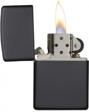 Zippo Black Matte - Lighter - Mat sort