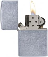 Zippo Street Chrome - Lighter - Patineret krom