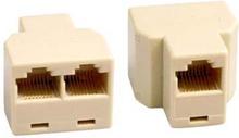 Kolmoisliitäntä verkkokaapelille 8P/8C RJ45