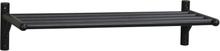 Memphis skoställ svart ek 80 x 33 cm