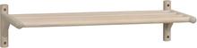 Memphis skoställ vitpigmenterad ek 80 x 33 cm
