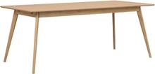 Yumi matbord lackad fanérad ek 190 x 90 cm