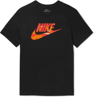 Nike - Logo-print Cotton-jersey T-shirt - Black - L,Nike - Logo-print Cotton-jersey T-shirt - Black - M,Nike - Logo-print Cotton-jersey T-shirt - Black - XXL,Nike - Logo-print Cotton-jersey T-shirt - Black - XL,Nike - Logo-print Cotton-jersey T-shirt - Bl