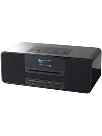 DAB bærbar radio KR136ODABBT - Black - DAB/DAB+/FM - Stereo - Sort
