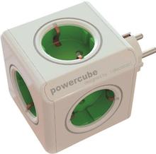 PowerCube Original - 5 uttag Grön