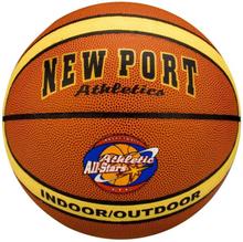 New Port basketball lamineret PVC læder 16GF