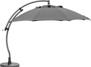 Easy sun parasoll Antracit/antracit Frihängande 3,75 m