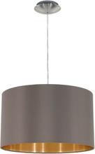 EGLO Taklampa Maserlo D38 cm cappuccino 31603