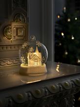 Konstsmide LED glaskugle med kirke