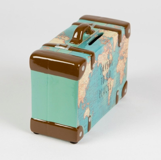 Sass & Belle Vintage Retro Money Box