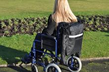 Splash kørestolspose med afføring