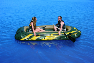 Intex Seahawk 4 oppustelige båd sæt