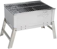 Bo-Camp - Barbecue - Kompakt - Deluxe - Rustfrit stål