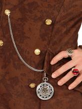 Smykke kæde medaljon pirat til voksne