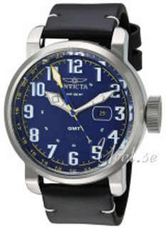 Invicta 22251 Aviator Blå/Läder Ø52 mm