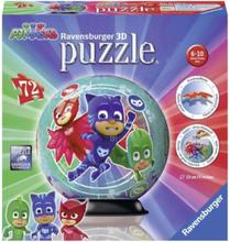 Puzzle ball PJ Masks 72st Puzzle 3D