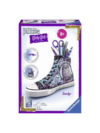 Girly Girl 3D puzzle-Sneaker 3D Palapeli