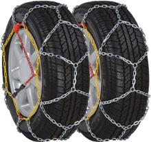 vidaXL 2 st. snökedjor för bildäck 12 mm KN 80