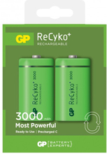 GP Batteries ReCyko C 3000 Laddbara batterier 2-pack