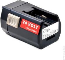Ersättningsbatteri Milwaukee 24V 3Ah NI-MH Svart