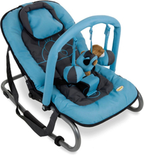 Baninni Babygunga Relax Classic blå flodhäst BNBO002-BLHP