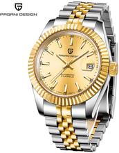 PAGANI DESIGN Men Mechanical Watch Top Brand Luxury Automatic Watch Sport Stainless Steel Waterproof Watch Men relogio masculino
