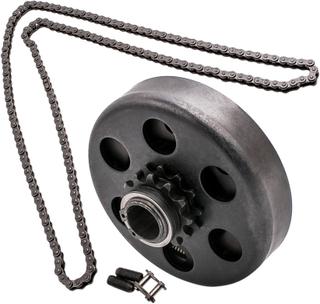 Compatible for Honda 1 Bore Promech 14T Type 40/41/420 Centrifugal Clutch Chain compatible for Mini Bike