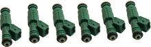 6x 440cc Green Giant Fuel Injectors for Audi 42lb Motorsport Racing 0280155968