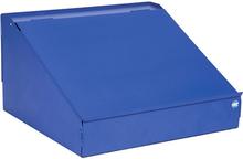 Skrivpulpet för enkelt verktygsskåp 495x446x279 Blå
