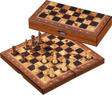 Philos Chess casette birdseye 26mm felt