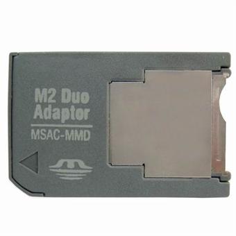 M2 Memory stick MS Pro Duo Sovittimeen