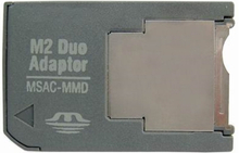 M2 Memory stick til MS Pro Duo Adapter