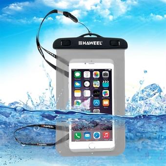 Vedenpitävä kotelo hihnalla iPhone / Samsung / Sony / Huawei