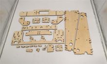 DIY Anet A8 / Hesine M505 / Tronxy 3D Printer clone Frame kit Laser Cut 6mm PlyWood plate